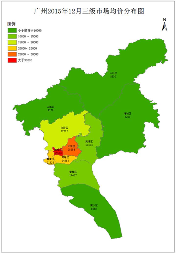 各行政区三级市场房价及走势一览图片